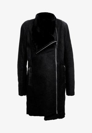 CLASSIC ZIPPER - Classic coat - merino black