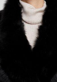 VSP - BELT COAT - Leather jacket - toscana black - 6