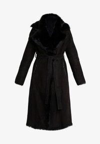 VSP - BELT COAT - Leather jacket - toscana black - 5