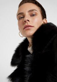 VSP - BELT COAT - Leather jacket - toscana black - 4