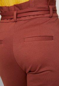 Vero Moda Tall - VMEVA  LOOSE PAPERBAG PANT  - Pantalon classique - mahogany - 6