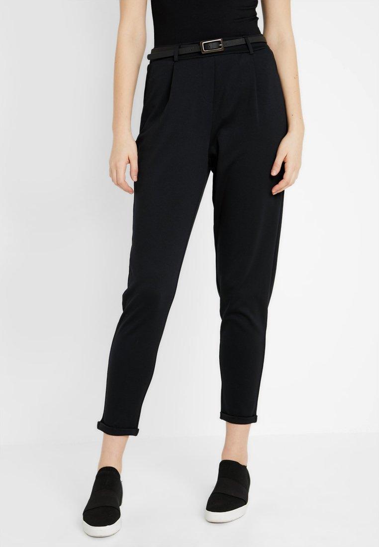 Vero Moda Tall - VMCARRIE N/W PANT JRS TALL - Stoffhose - black