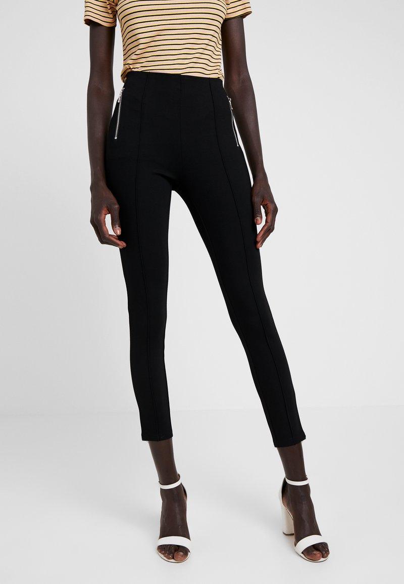 Vero Moda Tall - VMAVA ZIP - Leggings - Hosen - black