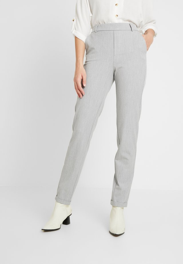 VMMAYA LOOSE SOLID PANT - Kalhoty - light grey