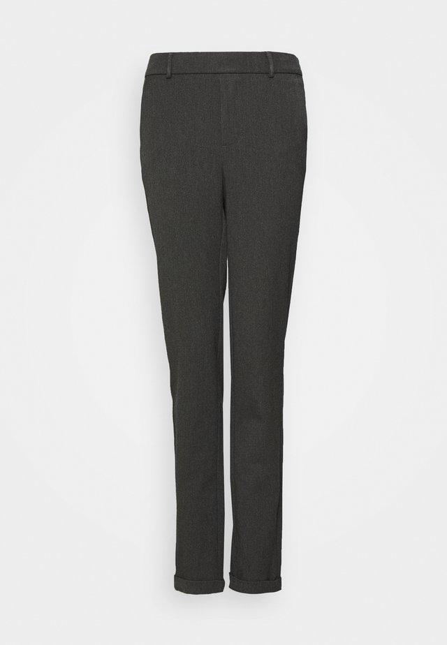 VMMAYA LOOSE SOLID PANT - Trousers - dark grey melange