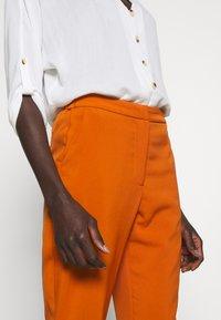 Vero Moda Tall - VMIZZA CIGARET PANTS - Kalhoty - autumnal - 4