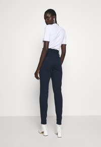 Vero Moda Tall - VMEVA LOOSE PAPERBAG PANT - Pantalon classique - night sky - 2