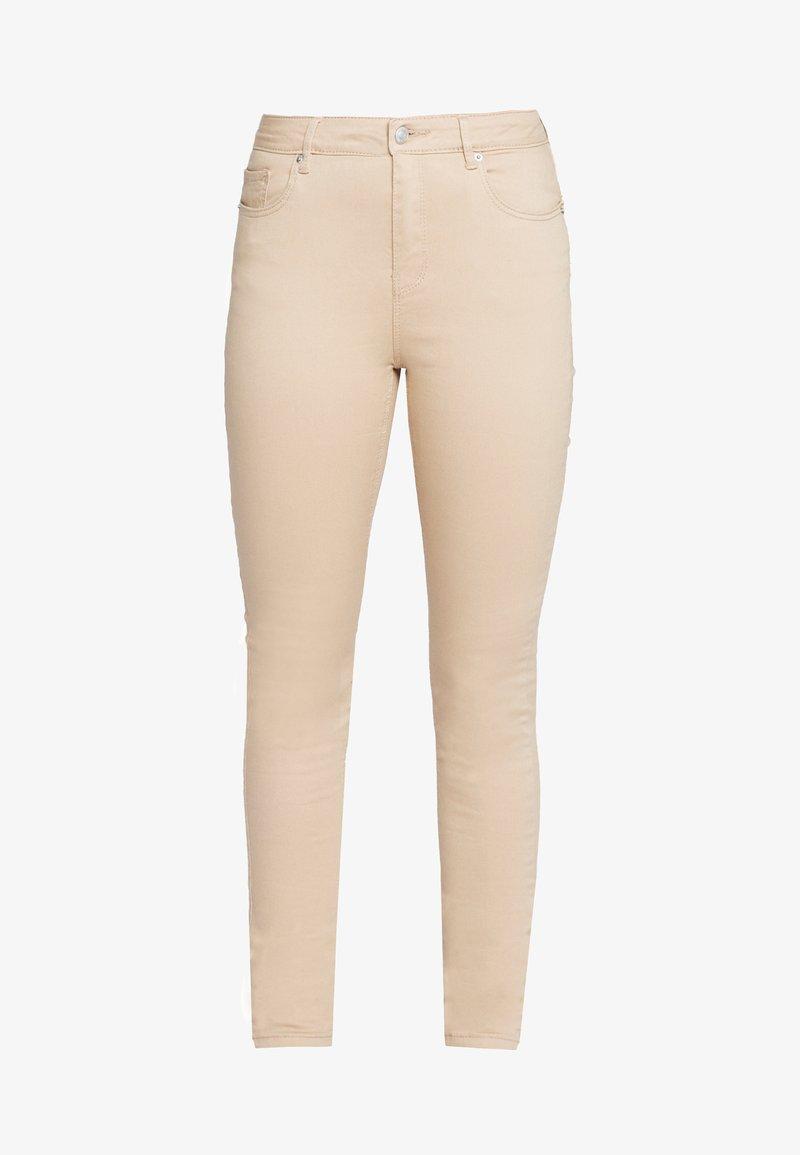 Vero Moda Tall - SEVEN PUSH UP PANTS - Jeans slim fit - beige