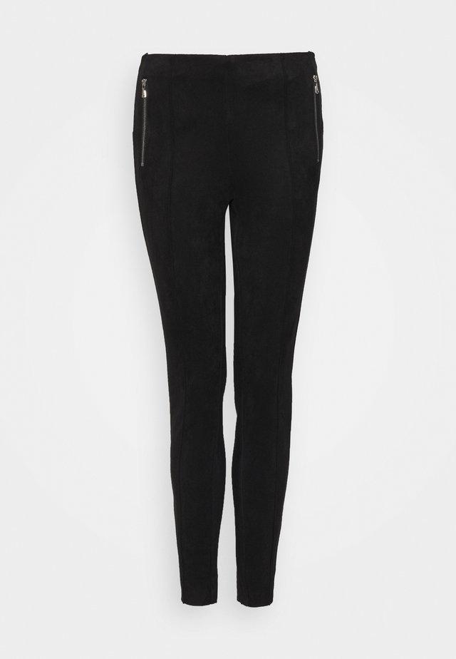 VMCAVA ZIP - Trousers - black