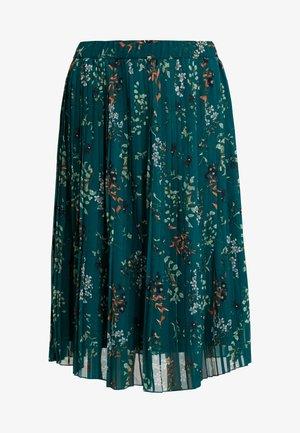 VMJULIE PLISSE SKIRT - A-line skirt - atlantic deep