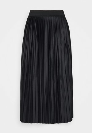 VMLEXI PLEAT CALF SKIRT  - Pencil skirt - black