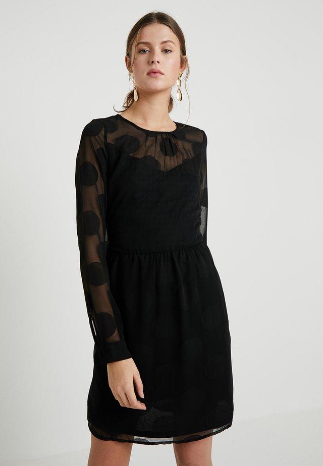 VMSYRA DOT DRESS  - Day dress - black