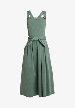 VMFLAME STRAP BOW MIDI DRESS - Korte jurk - laurel wreath