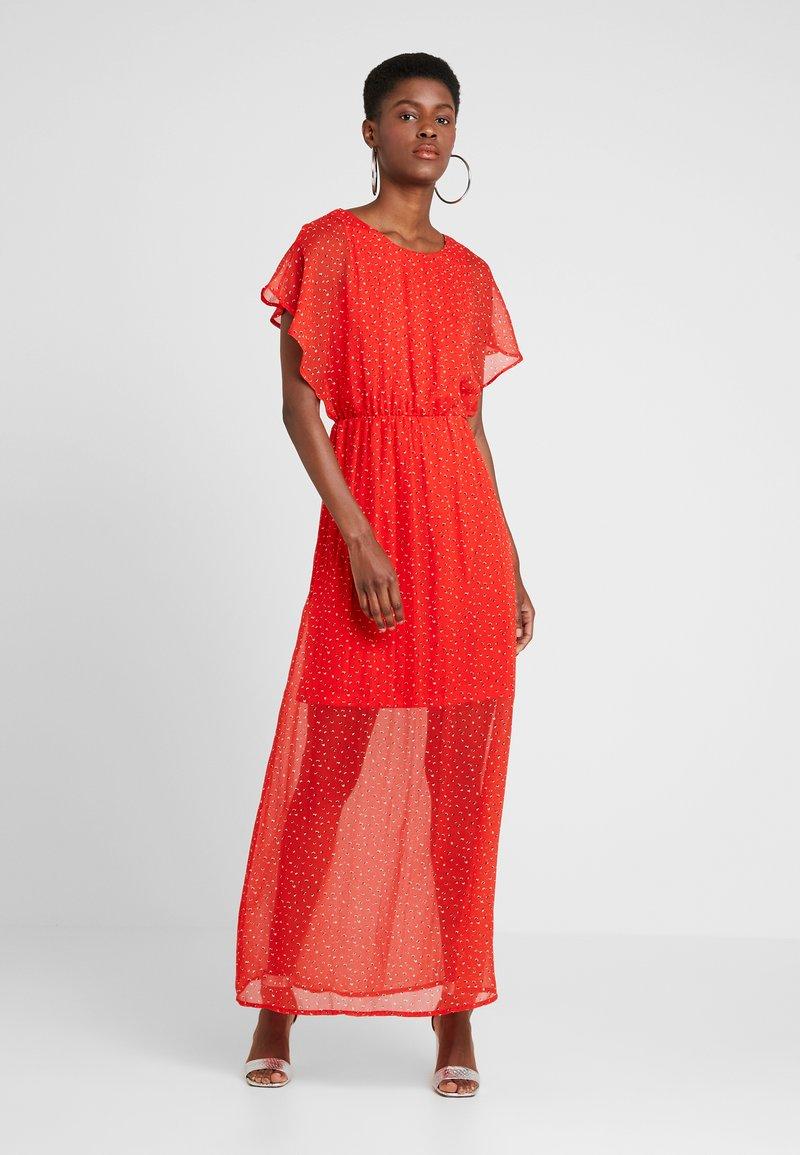 Vero Moda Tall - VMFAY ANKLE DRESS  - Maxi dress - fiery red/opaya