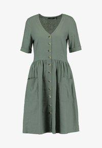 Vero Moda Tall - VMMALLI DRESS  - Sukienka letnia - laurel wreath - 4