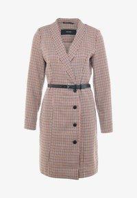 Vero Moda Tall - VMALICIA SHORT DRESS - Shift dress - tobacco brown - 5