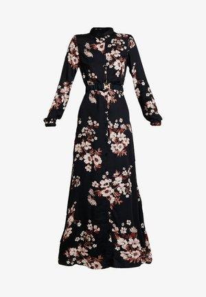 Vestido largo - black/belle