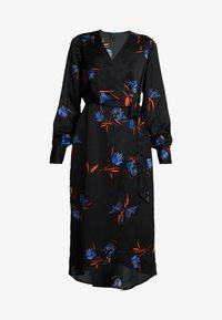Vero Moda Tall - VMLOLA CALF DRESS  - Maxi šaty - black/lola - 5