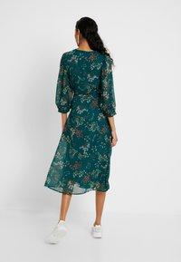 Vero Moda Tall - VMJULIE CALF DRESS  - Day dress - atlantic deep/julie - 3