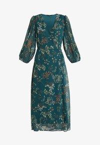 Vero Moda Tall - VMJULIE CALF DRESS  - Denní šaty - atlantic deep/julie - 4