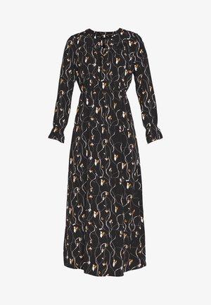 VMGALICE LS ANKLE DRESS - Kjole - black/galice