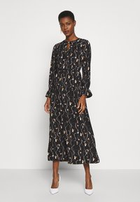 Vero Moda Tall - VMGALICE LS ANKLE DRESS - Kjole - black/galice - 0