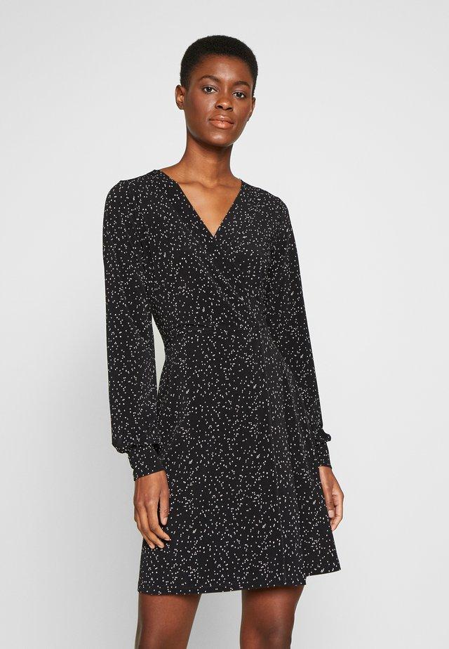 VMIVANA SHORT DRESS - Jerseyjurk - black