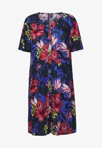 Vero Moda Tall - VMATHEN SHORT SHIRT DRESS - Denní šaty - baja blue/gina - 4