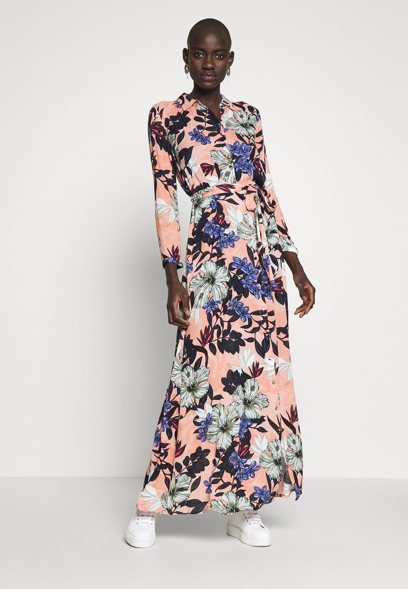 Vero Moda Tall - VMATHEN ANKLE SHIRT DRESS VIP - Vestido largo - misty rose/gina
