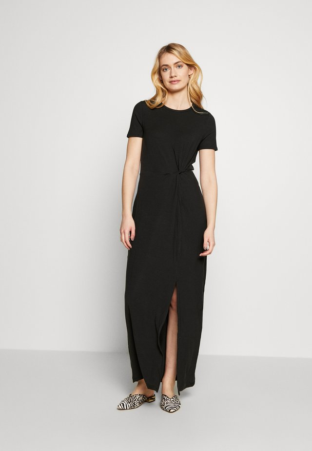 VMAVA LULU ANCLE DRESS TALL - Maxi-jurk - black