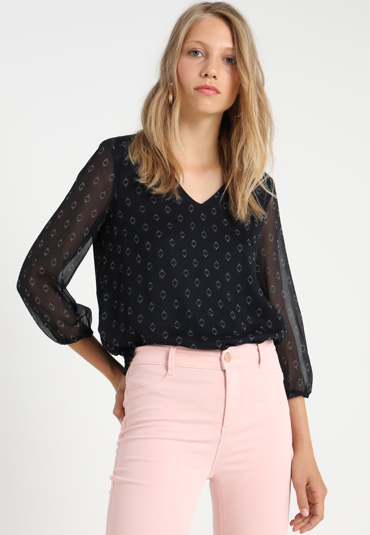 Vero Moda Tall - VMALIA 3/4 - Blusa - night sky