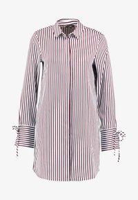 Vero Moda Tall - VMDECADENT LONG SHIRT - Blusa - cashmere blue - 4