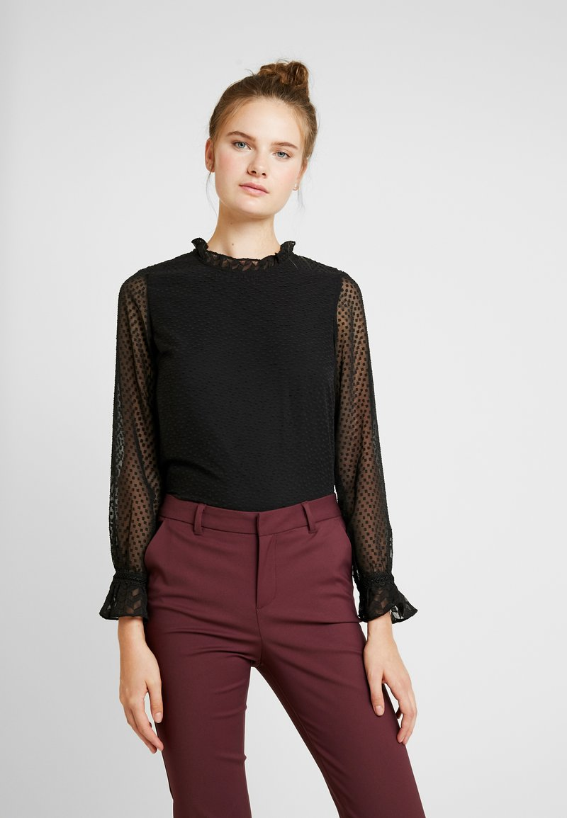 Vero Moda Tall - VMABIGAIL MIX - Blůza - black