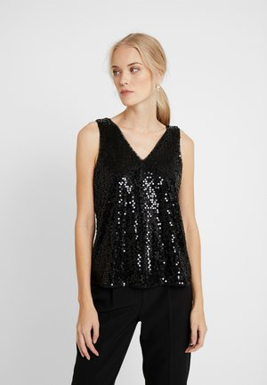 VMDAISY - Bluzka - black/sequins