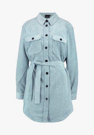 VMCORDAFIA LONG SHIRT TALL - Overhemdblouse - slate