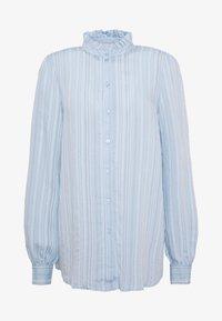 Vero Moda Tall - VMKATA LS ONECK  SHIRT  - Overhemdblouse - ashley blue - 3