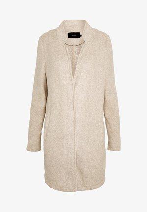 VMBRUSHEDKATRINE JACKET - Classic coat - silver mink