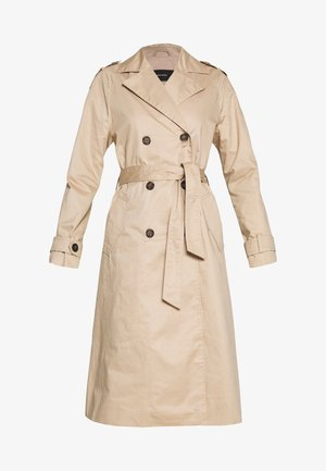 VMHAMBORG LONG - Trenchcoat - travertine