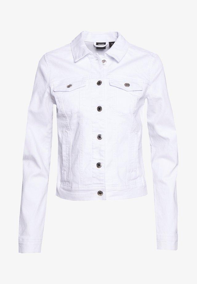 VMHOT SOYA JACKET - Jeansjacka - bright white