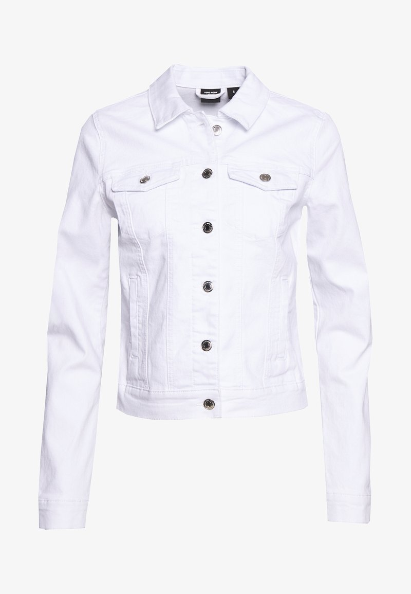 Vero Moda Tall - VMHOT SOYA JACKET - Jeansjakke - bright white