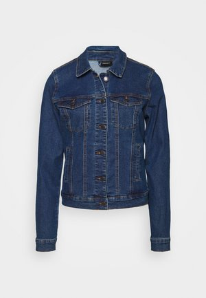 VMHOT SOYA JACKET - Spijkerjas - medium blue denim
