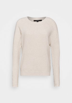 VMDOFFY O NECK  - Pullover - birch/melange