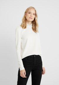 Vero Moda Tall - VMFOREST PLEAT - Sweater - birch - 0