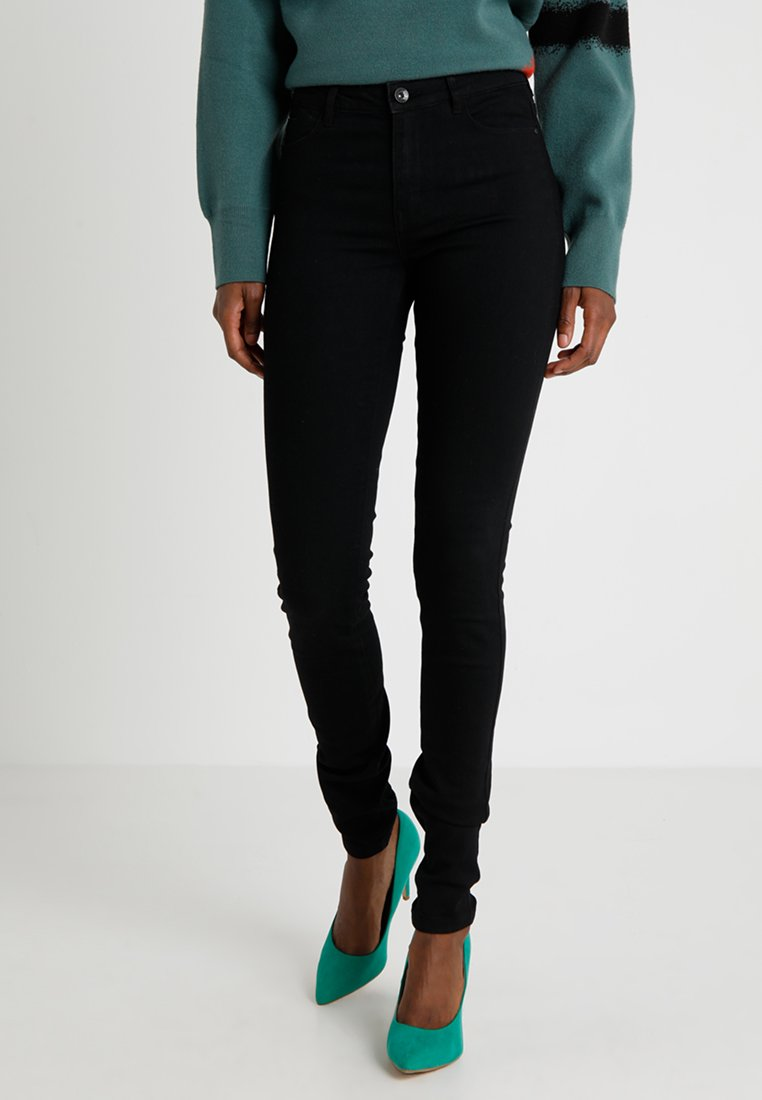 Vero Moda Tall - VMJULIA FLEX IT MR JEG - Jeans Skinny - black