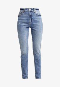 Vero Moda Tall - VMSELENA TAPERED - Slim fit jeans - medium blue denim - 4