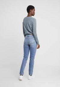 Vero Moda Tall - VMSELENA TAPERED - Slim fit jeans - medium blue denim - 2