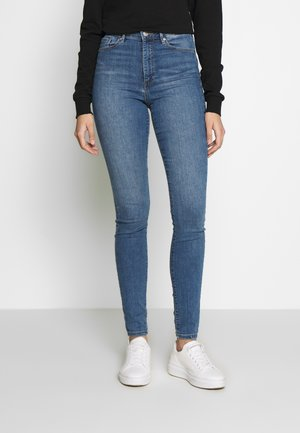 VMSOPHIA SKINNY TALL - Skinny džíny - light blue denim