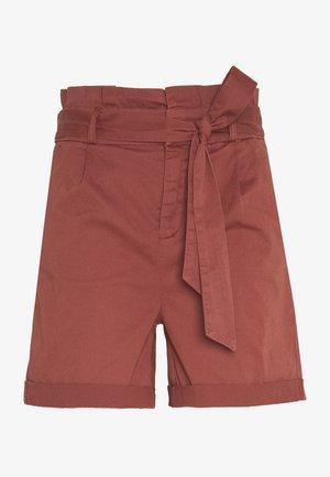 VMEVA PAPERBAG - Shorts - sable
