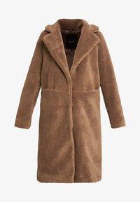 Vero Moda Tall - VMHOLLY - Zimní kabát - tobacco brown - 4