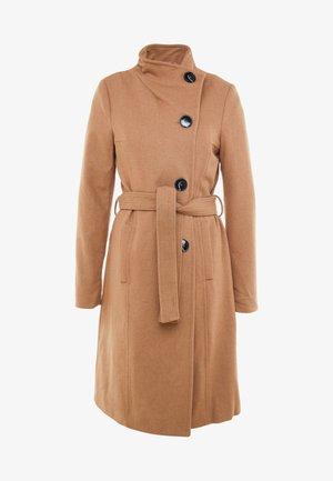 VMDANIELLA LONG JACKET - Zimní kabát - tobacco brown